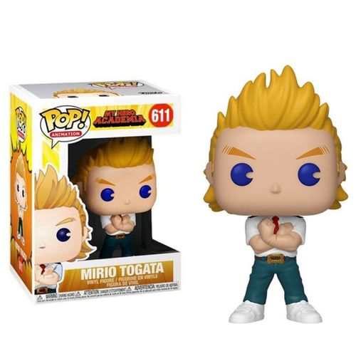 Pop! Mirio Togata: Boku no Hero Academia (My Hero Academia) Exclusivo #611 - Funko