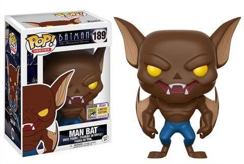Funko Pop Morcego Humano (Man Bat): Batman the Animated Series #189 - Funko