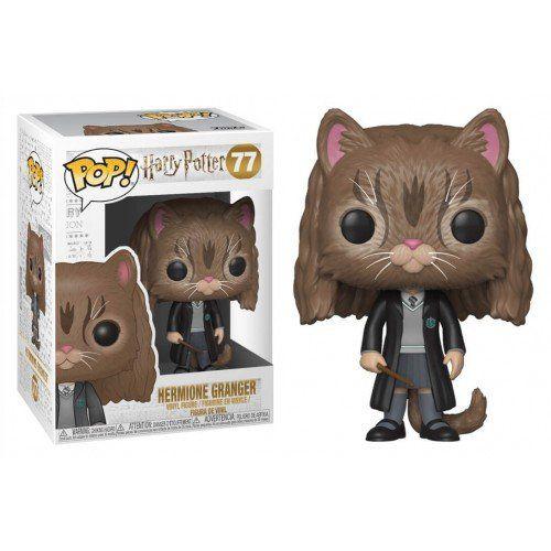 Funko Pop! Movie Hermione Granger (Cat): Harry Potter #77 - Funko - EVALI