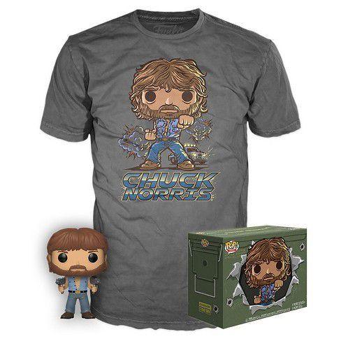 Funko Kit Exclusivo Pop! Movies Collectors Box: Chuck Norris (Exclusivo) - Funko (Apenas Venda Online)