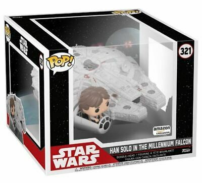 Pop! Movies Deluxe Han Solo (In The Millennium Falcon): Star Wars (Special Edition) #321 - Funko