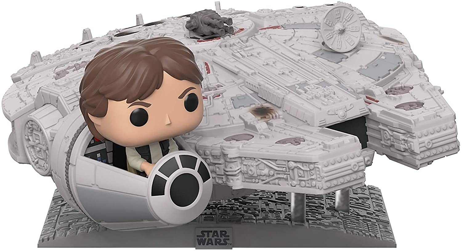 Pop! Movies Deluxe Han Solo (In The Millennium Falcon): Star Wars (Special Edition) #321 - Funko