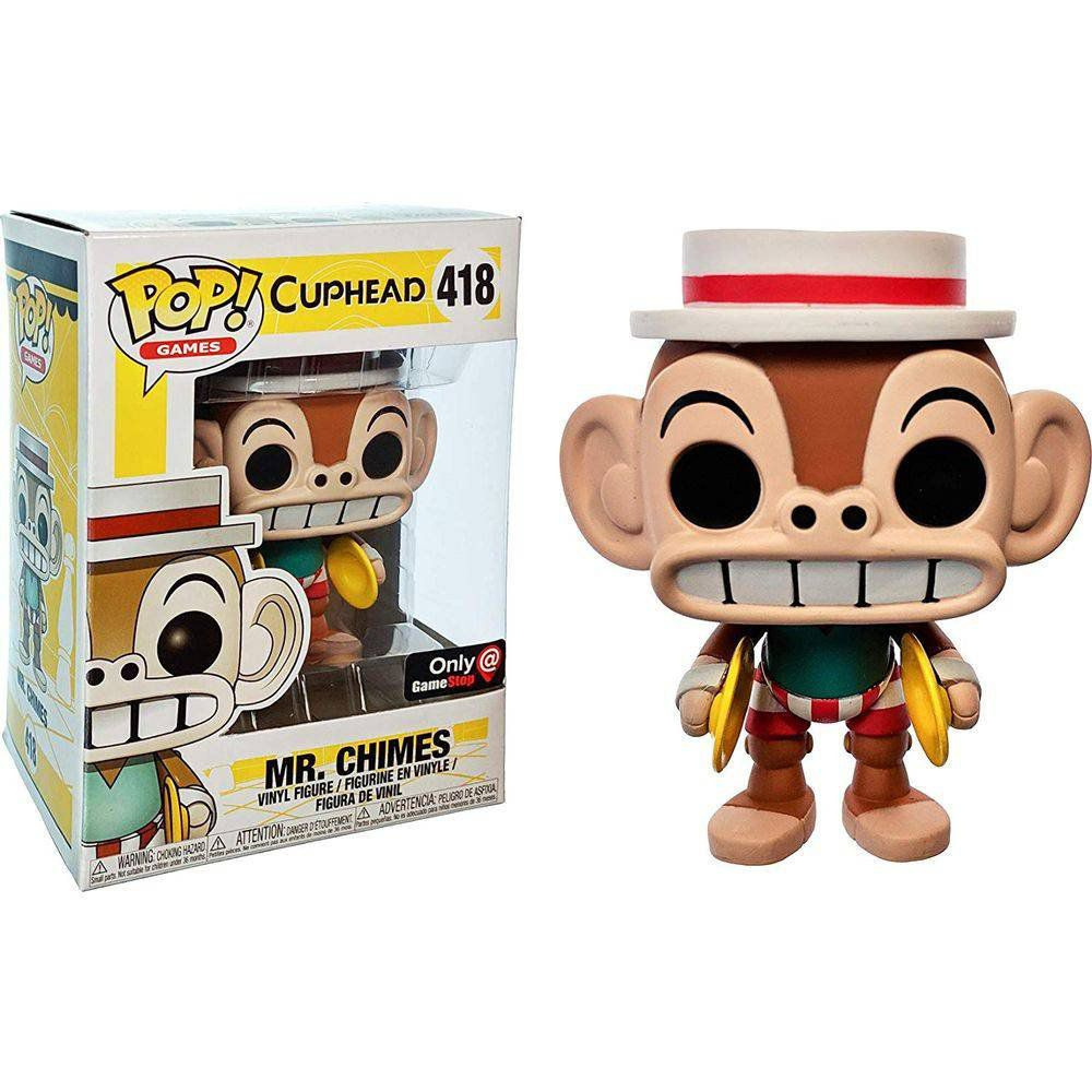 Pop! Mr. Chimes: Cuphead (Exclusivo) #418 - Funko