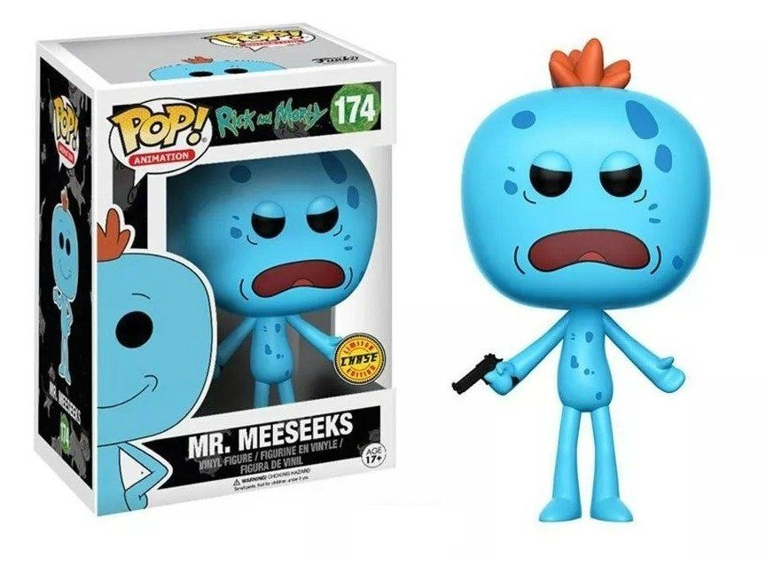 Funko Pop Mr. Meeseeks (Chase): Rick and Morty #174 - Funko