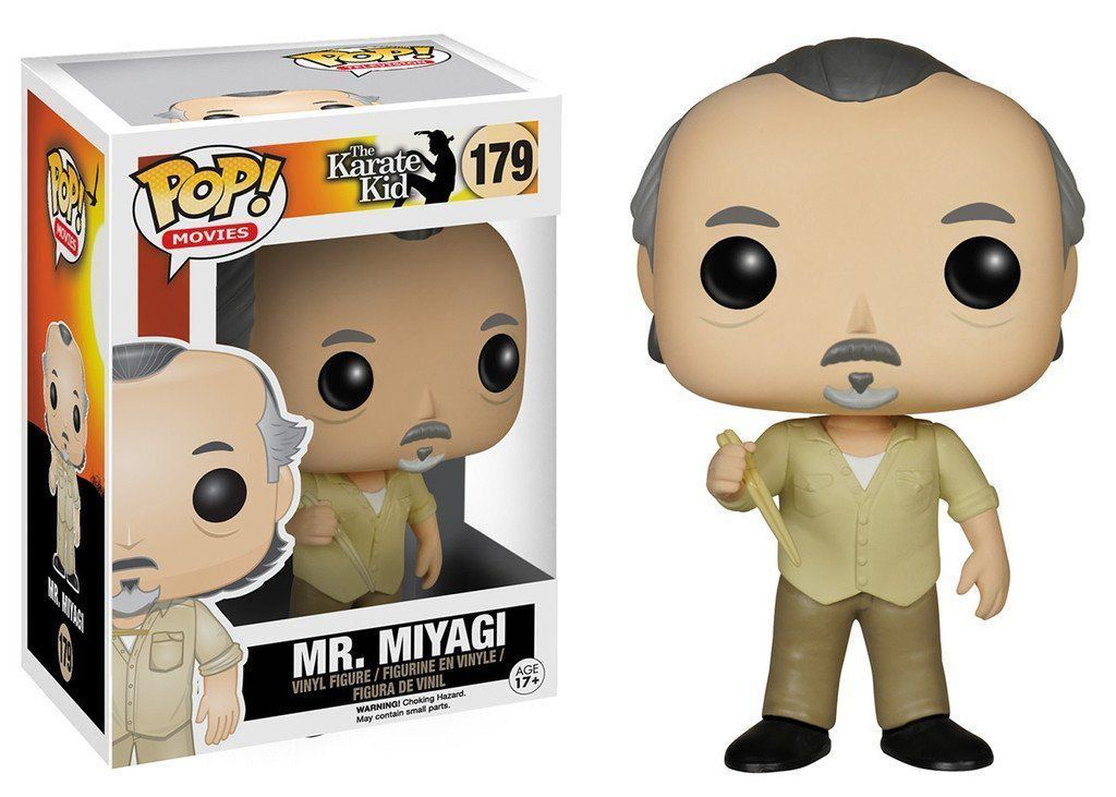 Funko Pop Mr. Miyagi: Karate Kid #179 - Funko