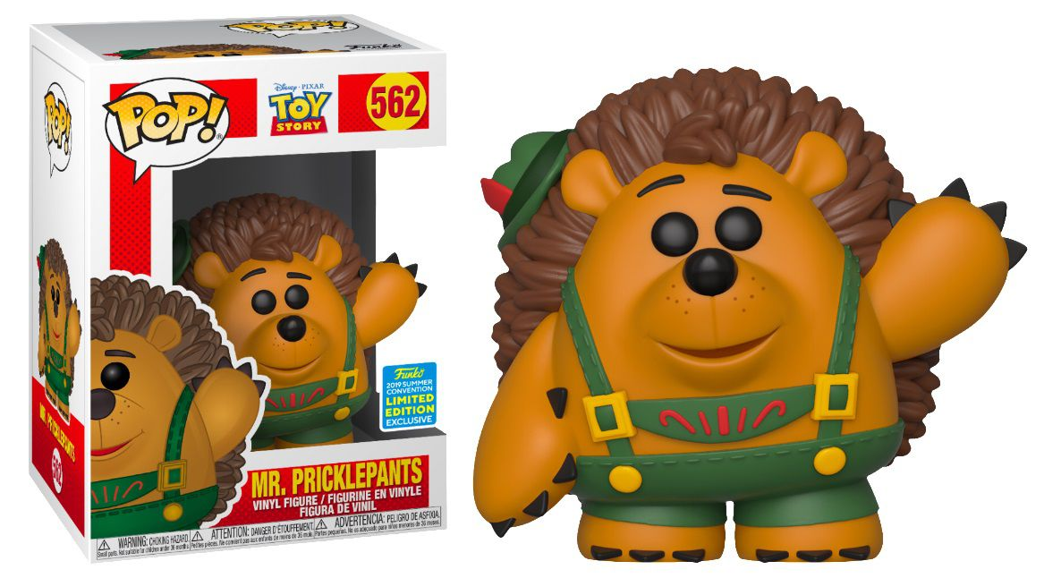 Pop! Mr Pricklepants: Toy Story (Exclusivo SDCC) #562 - Funko