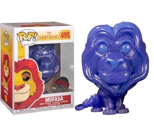 Pop! Mufasa : O Rei Leão (The Lion King) Exclusivo #495 - Funko