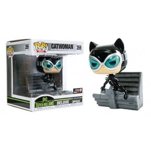 Pop! Mulher-Gato (Catwoman): DC Supervillains Jim Lee (Exclusivo) #269 - Funko