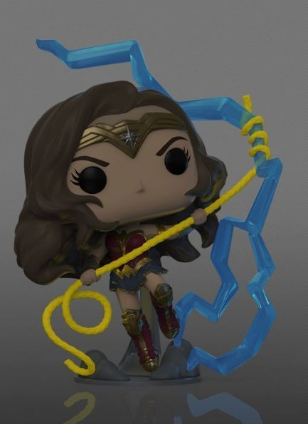 Funko Pop! Mulher Maravilha Glow-in-the-Dark (Wonder Woman Glow-in-the-Dark): Mulher Maravilha 1984 - Dc Comics (NYCC 2020 Exclusivo) #361 - Funko