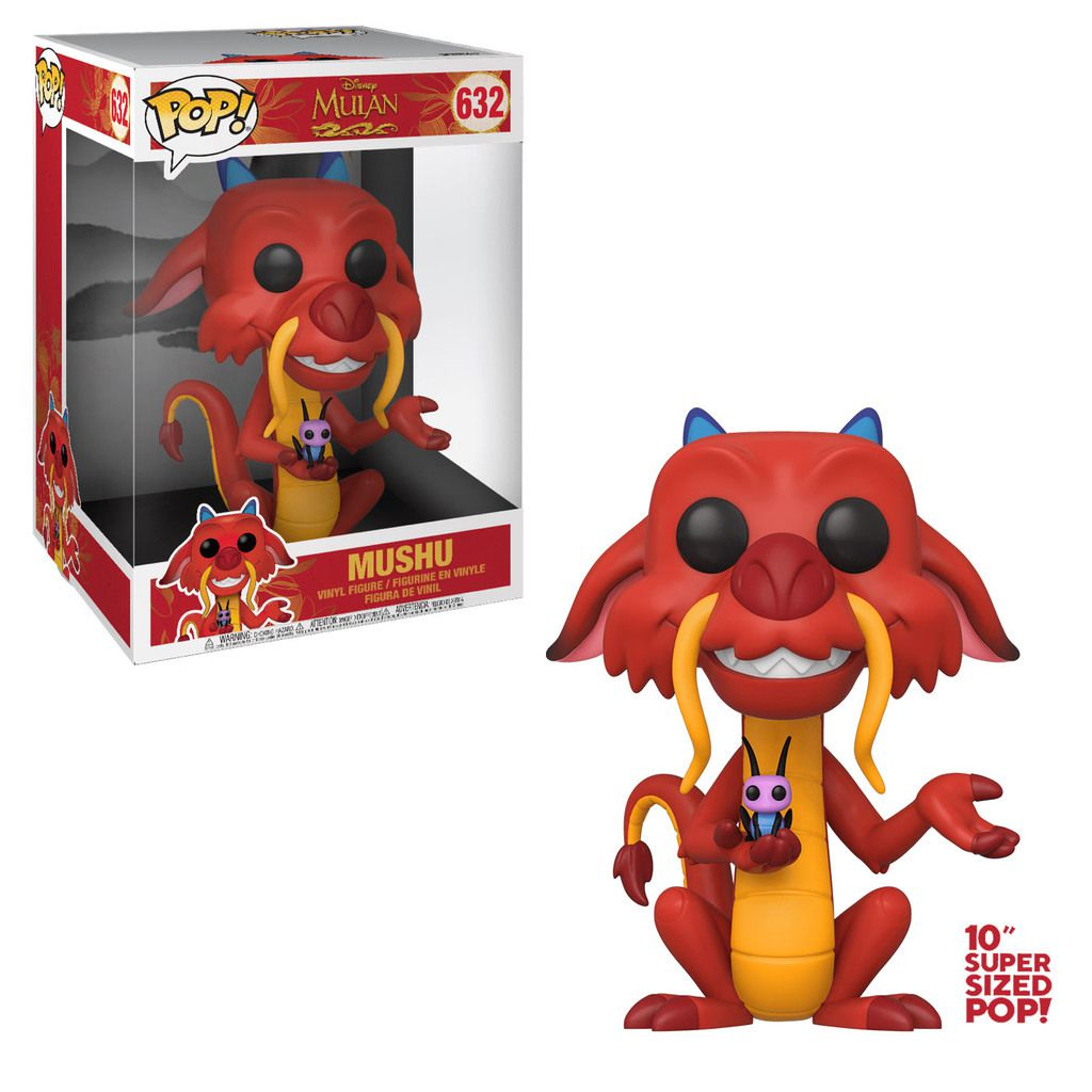 Funko Pop! Mushu Sized 10