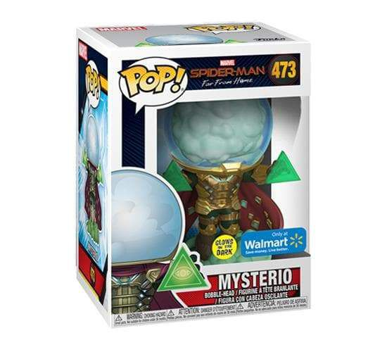 Funko Pop! Mysterio (Glow In The Dark): Homem-Aranha Longe de Casa (Far From Home) #473 - Funko (Apenas Venda Online)