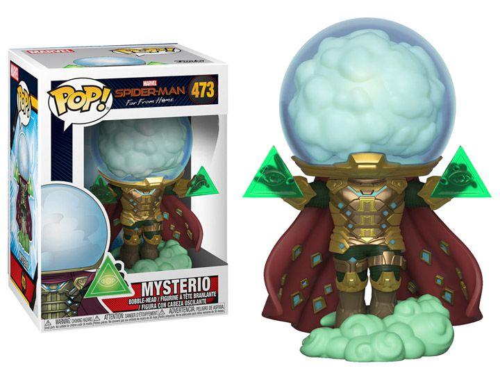 Funko Pop! Mysterio: Homem-Aranha Longe de Casa (Far From Home) #473 - Funko
