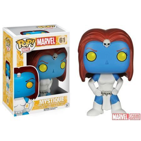 Funko Pop Mística (Mystique): X-Men #61 - Funko