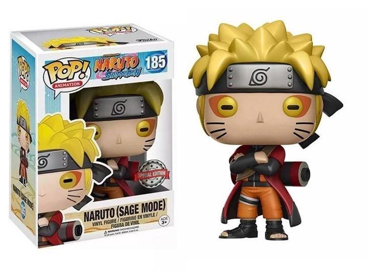 PRÉ VENDA: Funko Pop! Naruto (Modo Sennin): Naruto (Sage Mode): Naruto: Shippuden: #185 - Funko