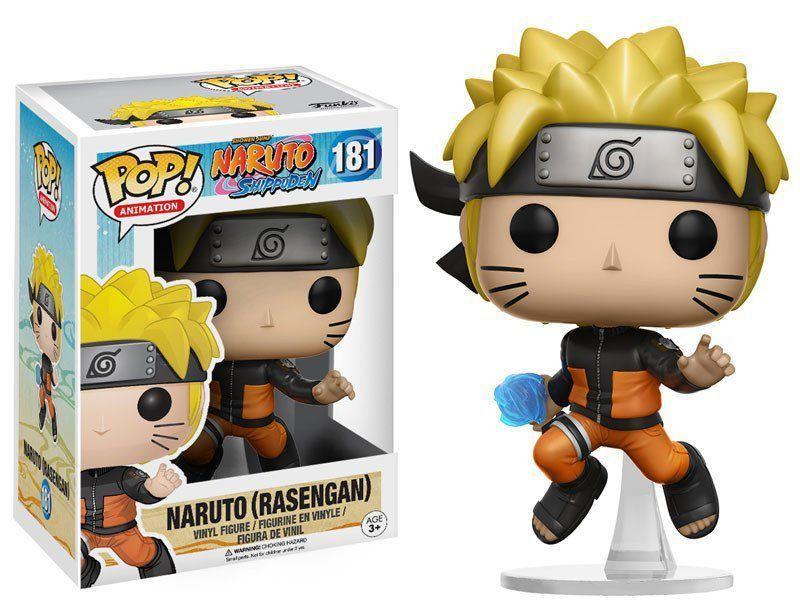 Funko Pop! Naruto Rasengan: Naruto Shippuden #181 - Funko
