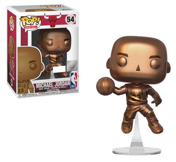Pop! NBA Michael Jordan (Bronze): Chicago Bulls (Exclusivo) #54 - Funko