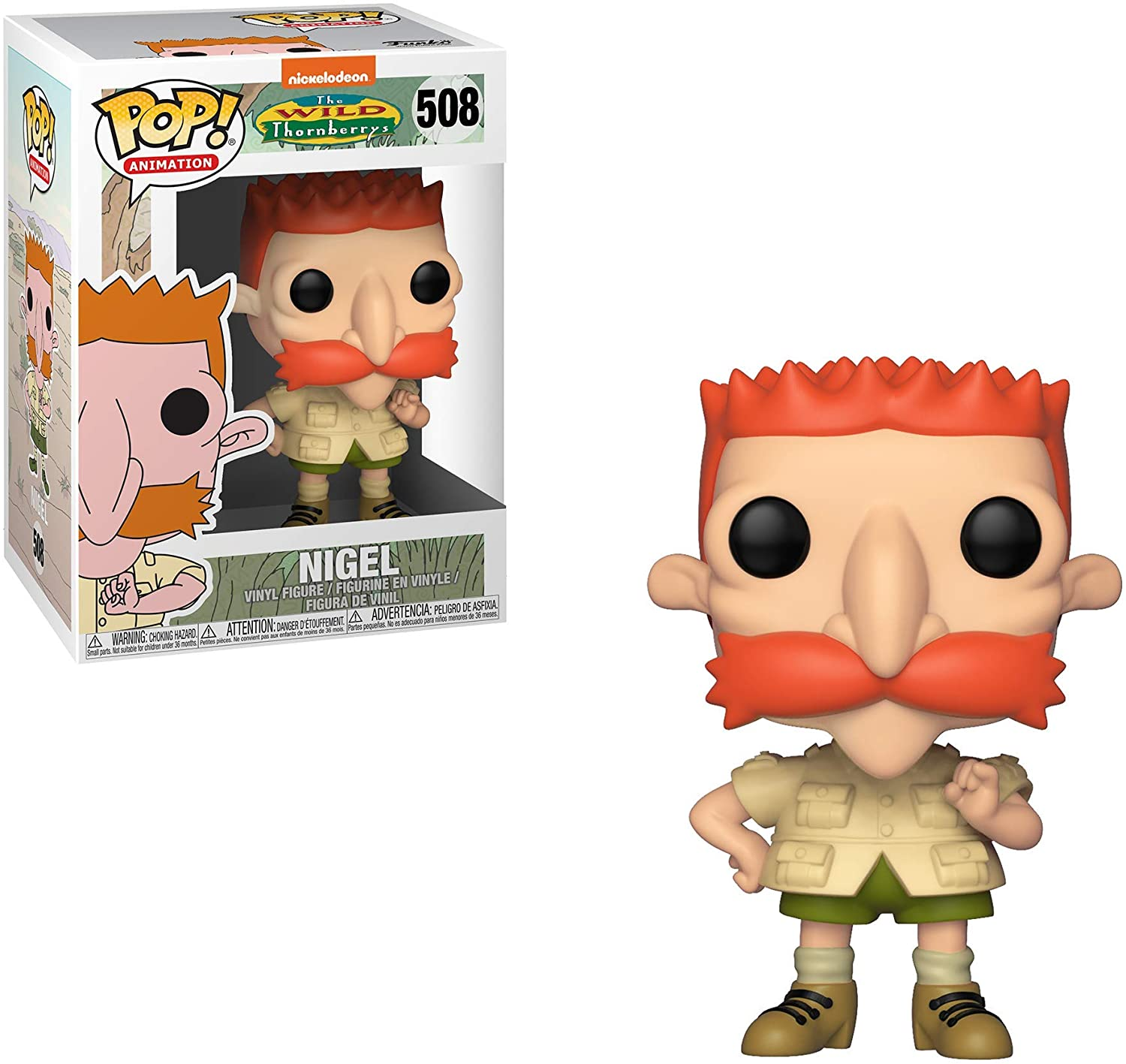 Funko Pop! Nigel Thornberry: Thornberry #508 - Funko