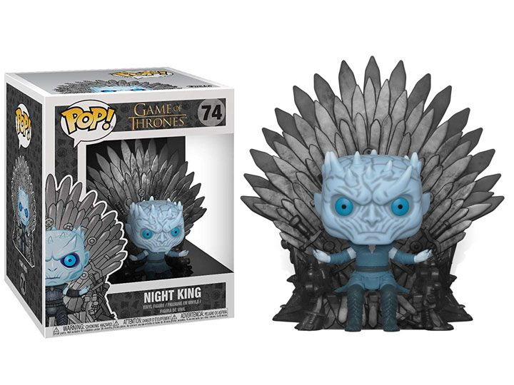 Pop! Night King (on Iron Throne): Game of Thrones #74 - Funko