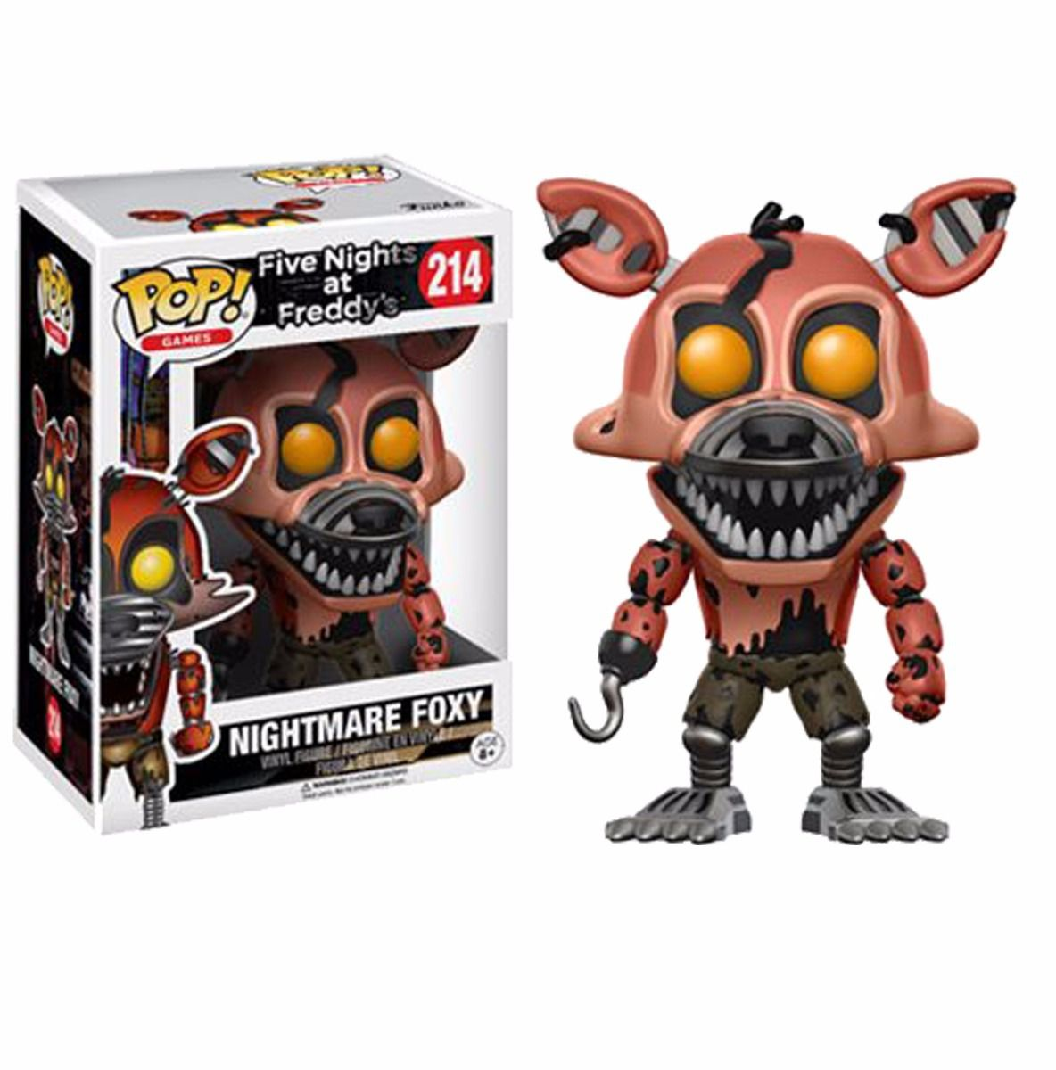 Funko Pop! Nightmare Fox: Five Nights at Freddy's #214 - Funko