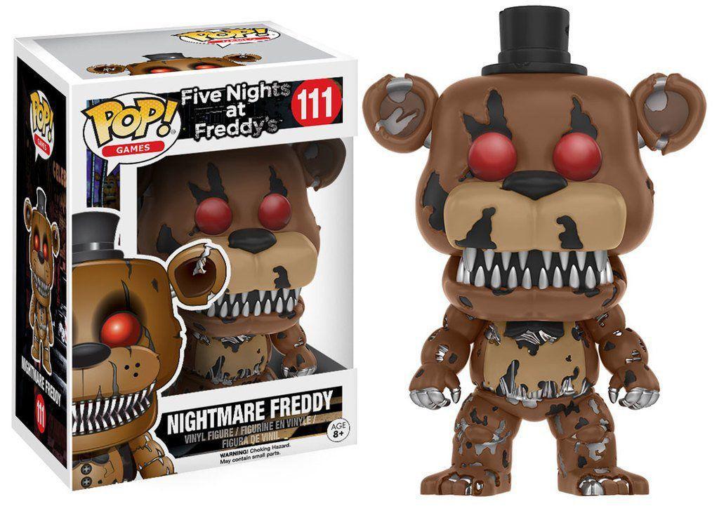 Funko Pop Nightmare Freddy: Five Nights At Freddy's (FNAF) #111 - Funko