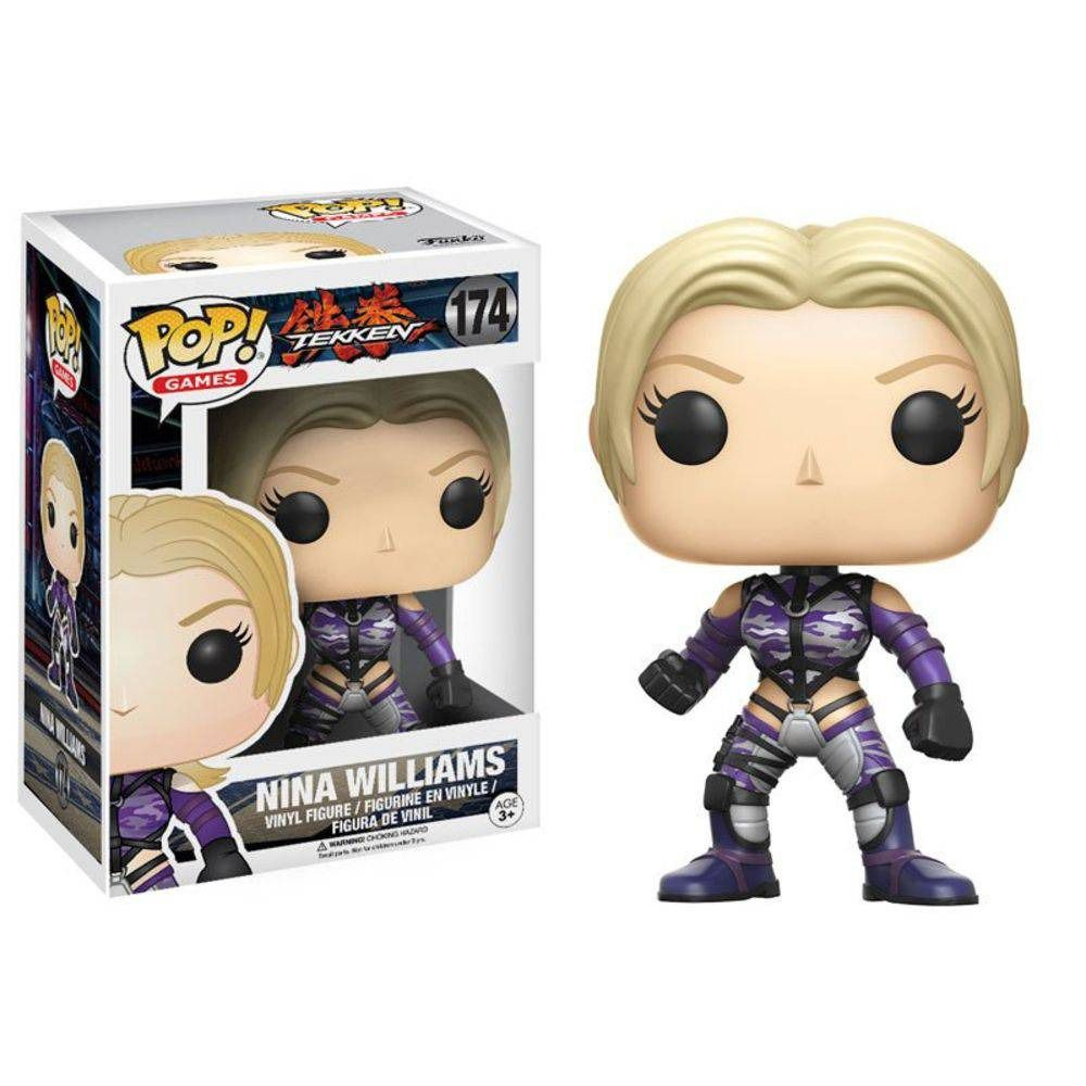 Funko Pop! Nina Williams: Tekken #174 - Funko