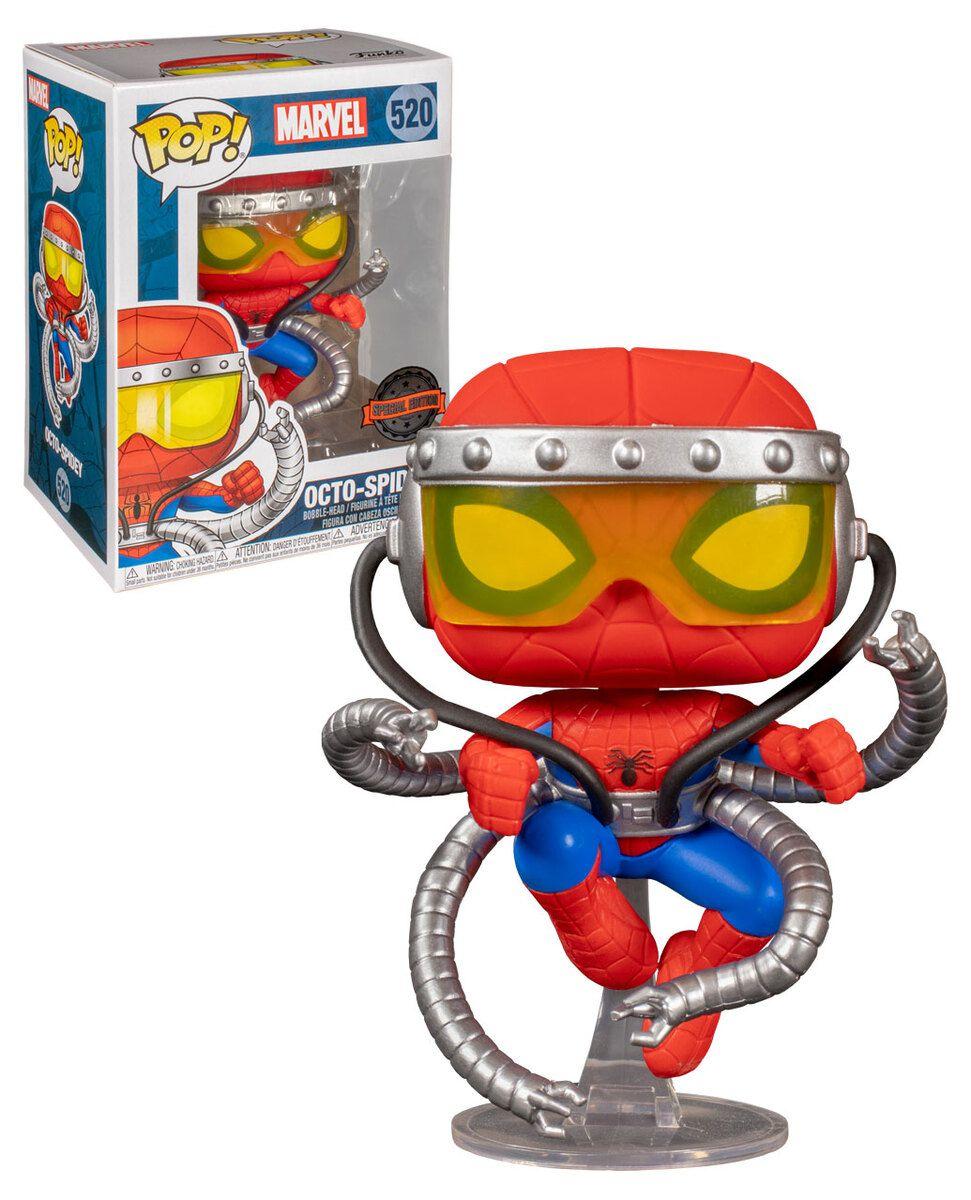 Funko Pop! Octo-Spidey (Homem-Aranha): Marvel (Exclusivo) #520 - Funko