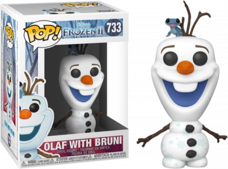 Funko Pop! Olaf e Bruni: Frozen II (Disney) #733 - Funko