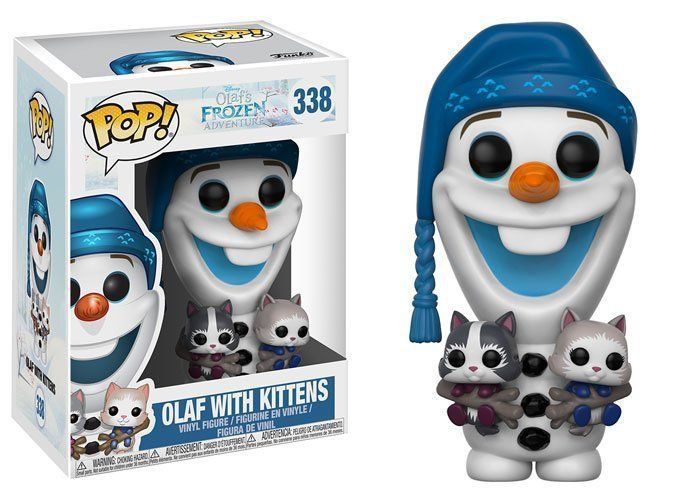 Funko Pop! Olaf With Kittens: Frozen #338 - Funko