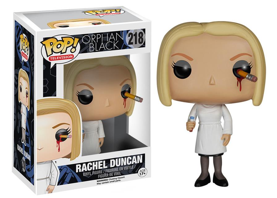 Pop Rachel Duncan (Pencil): Orphan Black #218 - Funko