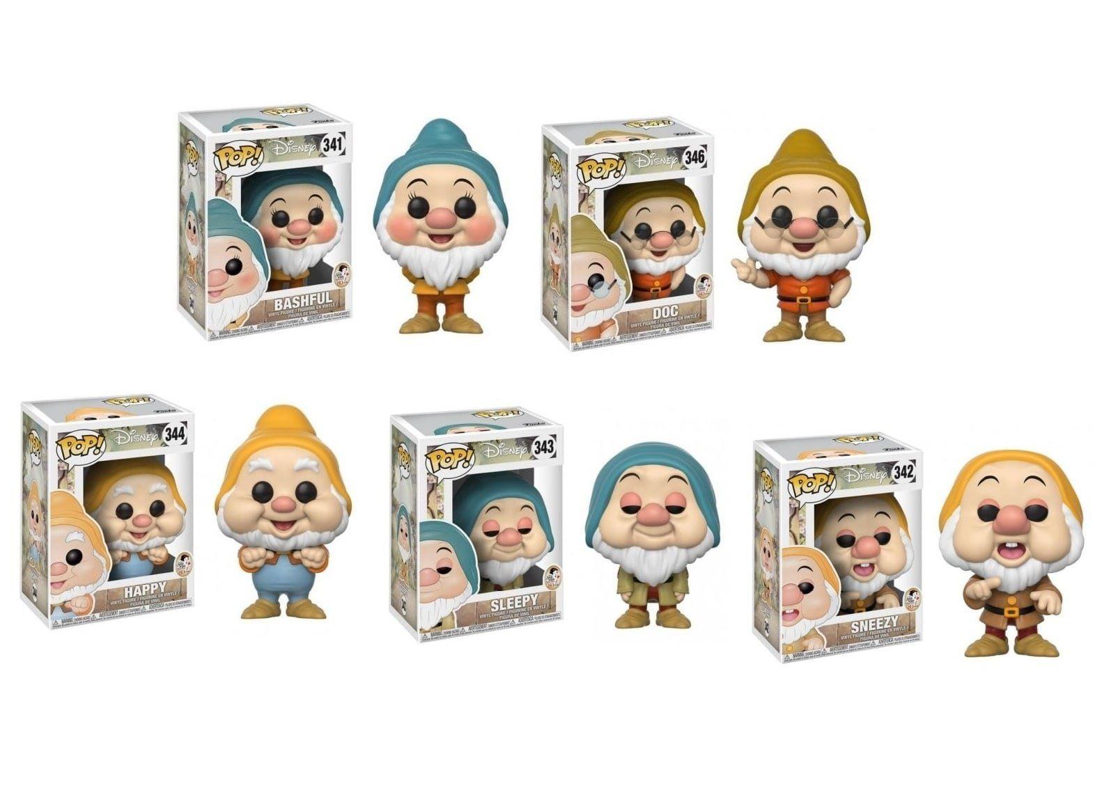 Funko Pop! Pack Anões da Branca de Neve: Disney (Set de 5) - Funko