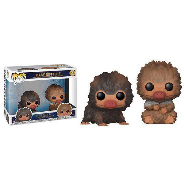 Funko Pop! Pack Baby Nifflers: Animais Fantásticos: Os Crimes de Grindelwald #2 - Funko
