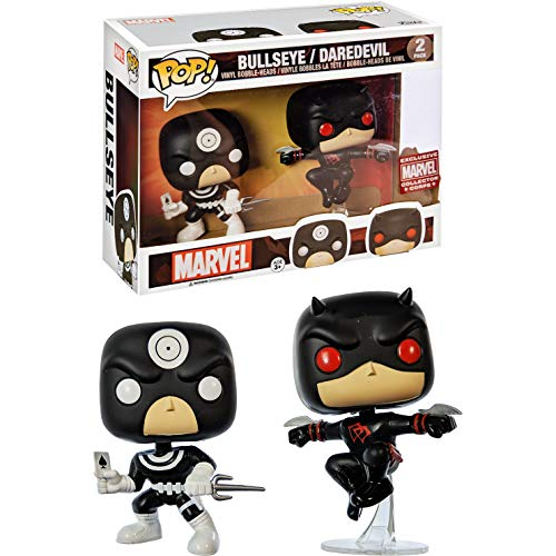 Pop! Pack Bullseye & Daredevil : Marvel Collector Corps #2 - Funko