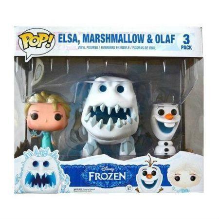 Funko POP! Pack Elsa Marshmallow & Olaf - Funko