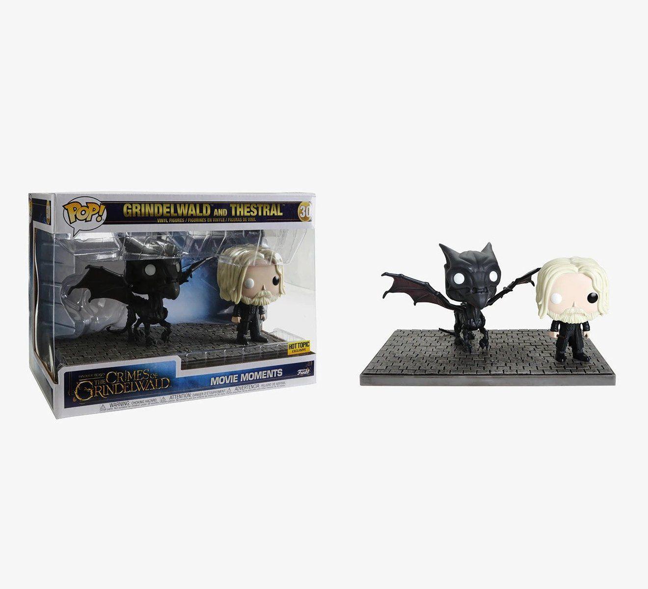 Pop! Pack Grindelwald & Thestral: Animais Fantásticos: Os Crimes de Grindelwald #30 - Funko