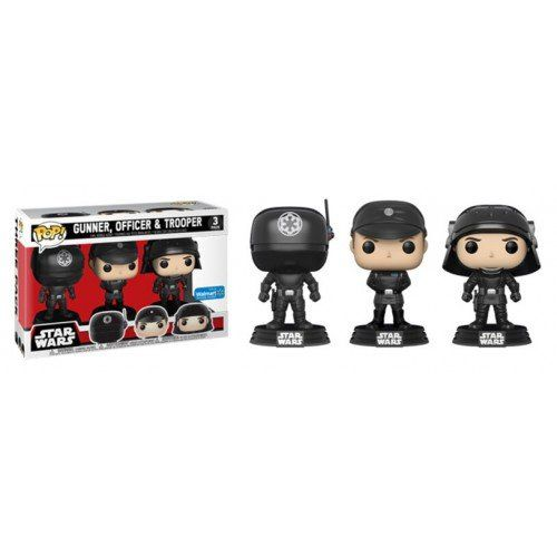 Pop! Pack Gunner, Officer & Trooper (Death Star): Star Wars (Exclusivo) #3 - Funko