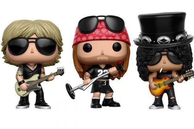PRÉ VENDA: Funko Pop! Pack Guns N' Roses - Funko