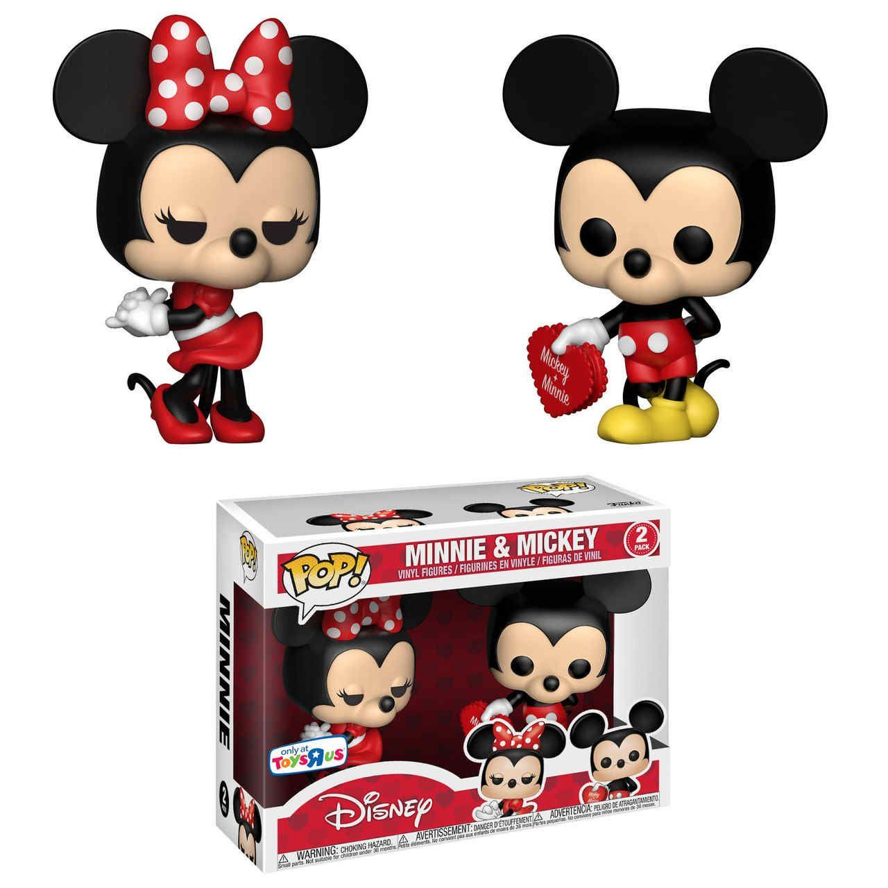 Pop! Pack Mickey e Minnie: Disney (Exclusivo) #02 - Funko