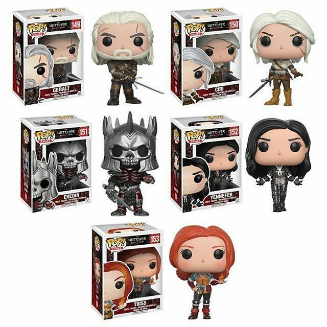 PRÉ VENDA: Funko Pop! Games: Pack The Witcher - Funko