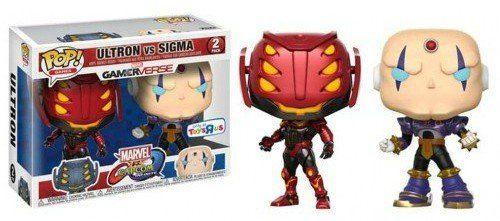 Pop! Pack Ultron vs Sigma: Marvel vs Capcom Infinite (Exclusivo) #02 - Funko
