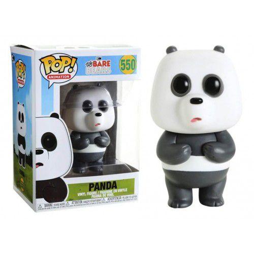 Funko Pop! Panda: Ursos sem Curso (We Bare Bears) #550 - Funko