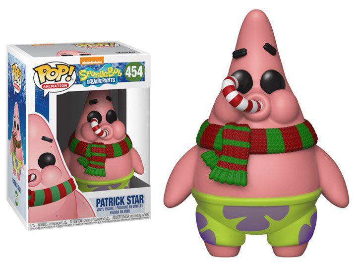 Funko Pop! Patrick (Holiday): Bob Esponja (Spongebob Squarepants) #454 - Funko (Apenas Venda Online)