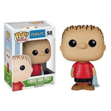 Funko Pop Linus Van Pelt (com Toalha): Peanuts #50 - Funko
