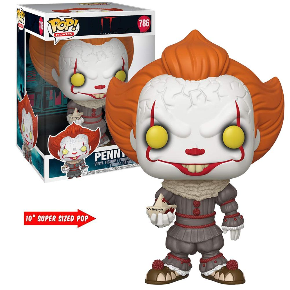 "Pop! Pennywise 10"": It A Coisa #786 - Funko"