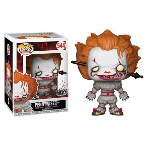 Pop! Pennywise with Wrought Iron: It #544 (Exclusivo) - Funko