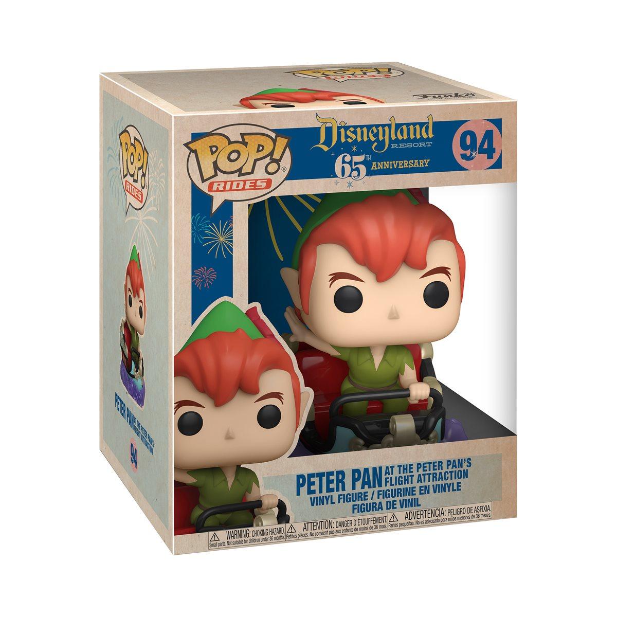 Funko Pop! Peter Pan na Atração de Voo de Peter Pan: Aniversário de 65 anos da Disneylândia #94 - Funko
