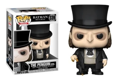Funko Pop! Pinguim (Penguin): Batman - O Retorno (Batman Returns) #339 - Funko