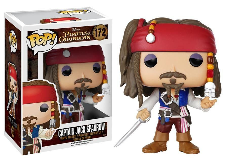 Funko Pop Jack Sparrow: Piratas do Caribe #172 - Funko