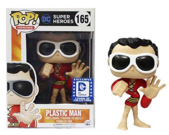 Funko Pop Plastic Man (Exclusivo): DC Super Heroes #165 - Funko