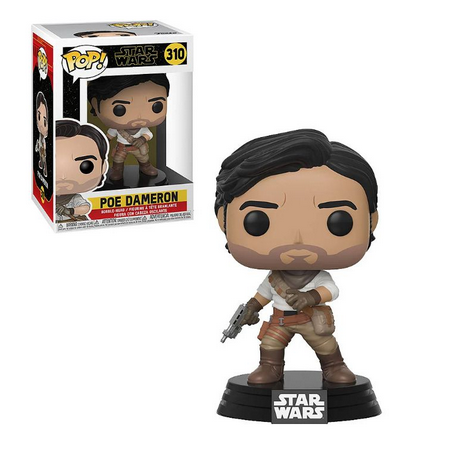 Funko Pop! Poe Dameron: Star Wars A Ascensão Skywalker (Star Wars The Rise of Skywalker) #310 - Funko