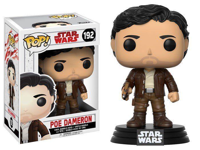 PRÉ VENDA: Funko Pop Poe Dameron: Star Wars: Os Últimos Jedi (The Last Jedi) #192 - Funko